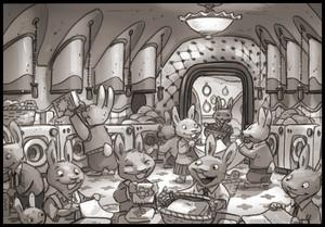 Zootopia Concept Art 由 Matthias Lechner