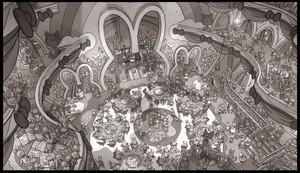 Zootopia Concept Art by Matthias Lechner