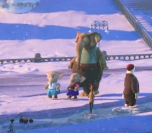 Zootopia La Reine des Neiges Easter Egg Baby Elephants as Elsa and Anna