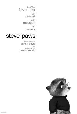 Zootopia Steve Paws Poster