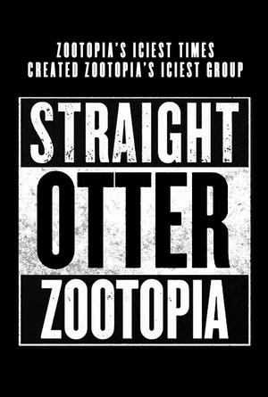 Zootopia Straight lontra Zootopia