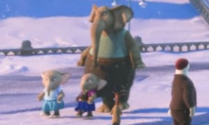Zootopia easter egg - Baby elephants as Elsa and Anna