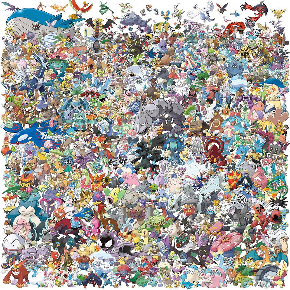 all pokemons