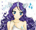 anime rarity - anime fan art