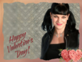 another Abby valentine - pauley-perrette wallpaper