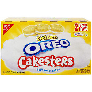 big box of Golden Oreo Cakesters