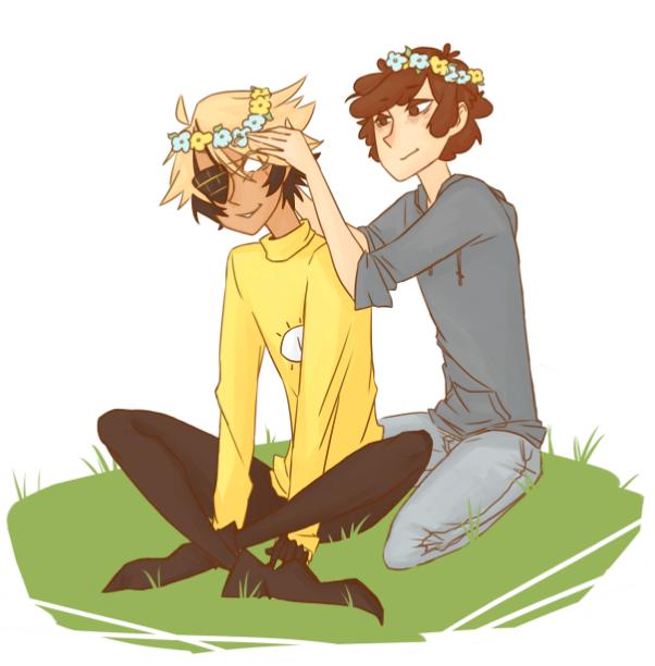 billdip پھول crowns