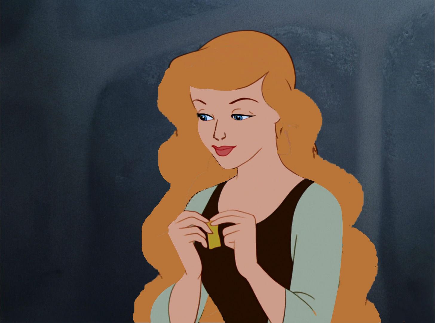 Cenicienta With Long Hair Princesas De Disney Foto