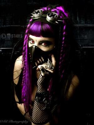 cyber-goth girl