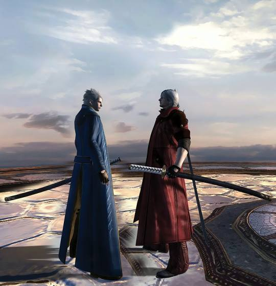 Devil May Cry 4 Images Dante And Vergil Wallpaper And Background