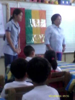 demmah and her Teaching observer