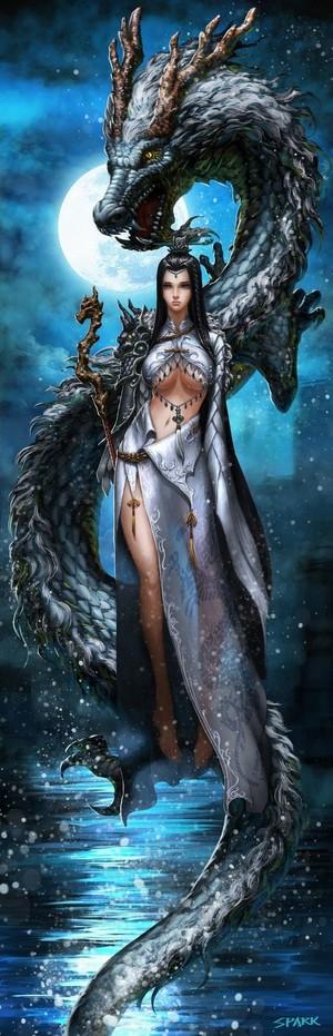 dragon qween