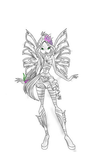 flora sirenix 2d Drawing