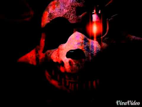Five Nights at Freddy's wallpaper probably containing a fire called foxy scary