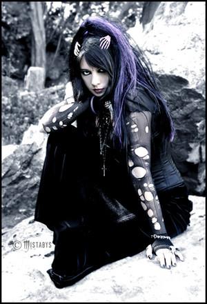 goth vampire girl