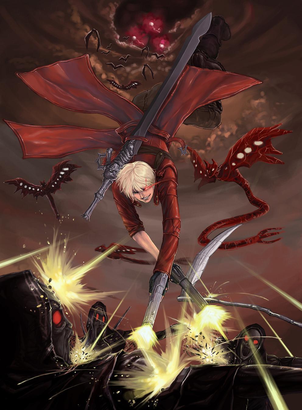 Gunslinger Stylish Devil May Cry 3 Fan Art 39354375 Fanpop