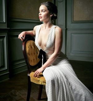 Emilia's photoshoot for Vanity Fair