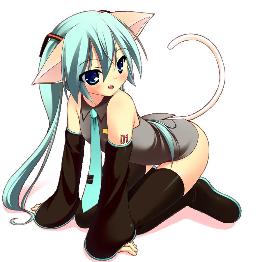 miku kitty  4