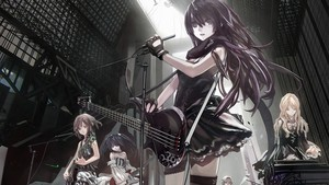 music girl band anime 2560x1440