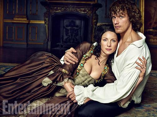 Чужестранка (2014, сериал) Обои titled Outlander Season 2 Entertainment Weekly Exclusive Picture