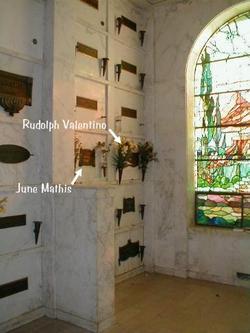 rudolph valentino grave