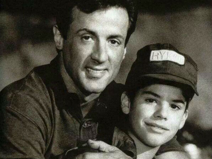 sylvester stallone and Sage