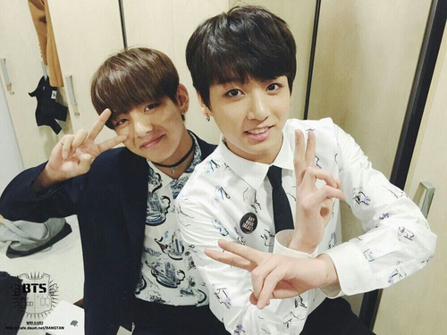 VKook (BTS) پیپر وال entitled vkook♥–♥