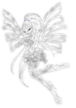 winx musa sirenix Drawing 2D