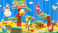 yoshis woolly world wallpaper 01 1920x1080 - yoshi wallpaper