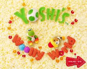 yoshis woolly world 壁紙 02 1280x1024