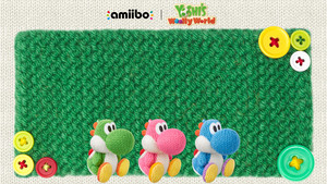 yoshis woolly world Обои 03 1920x1080