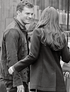 APRIL 4th 2016 | Dakota Johnson and Jamie Dornan filming Fifty Shades Darker in Vancouver