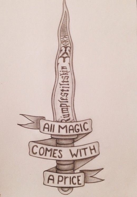 """All Magic Comes With A Price, Dearie"" - Rumplestilskin"