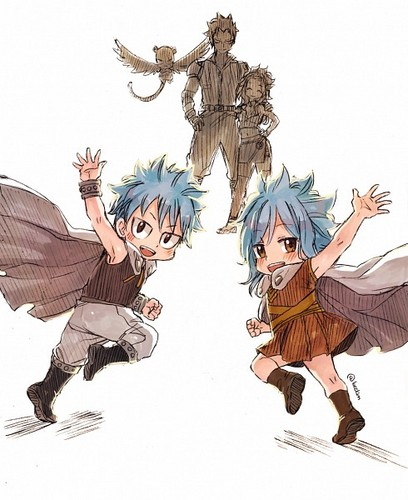 gajeel x levy family - photo #6