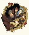 ♥Gajeel X Levy→'LOVE'♥ - anime-couples fan art