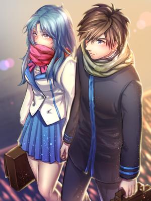 フルメタル・パニック! Kaname and Sousuke 宗かな