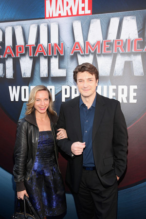 ‪Nathan Fillion‬ attends ‪Captain America‬ ‪Civil War‬ Premiere