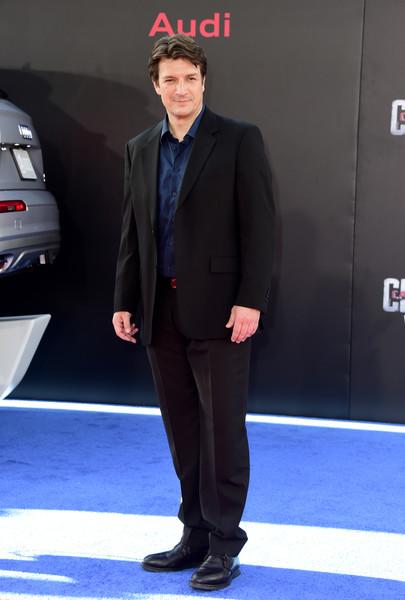 Nathan Fillion attends Captain America Civil War Premiere