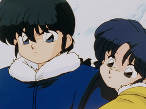 Ranma and Akane | らんま½ 乱馬とあかね