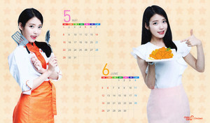 [SCANS] 2016 아이유 Mexicana Calendar 의해 IUmushimushi