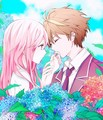 ♥Shu X Inori→'LOVE'♥ - anime-couples fan art
