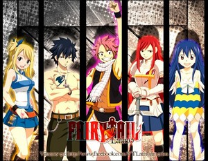 fairy tail wallpaper   by sasusaku027 d4m5ny3