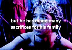 """""""made many sacrifices"""""""