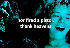 """nor fired a pistol"""