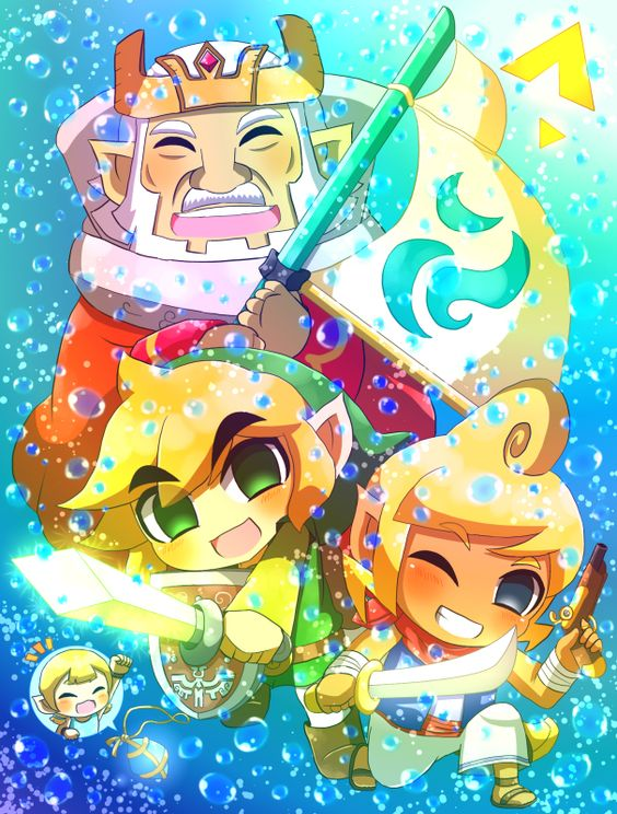 Zelda Wind Waker Images Hd Wallpaper And Background Photos 39496456