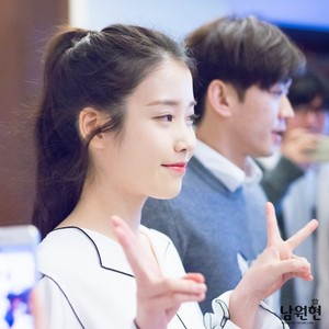 160405 IU at Sony h.ear Product Launch Conference
