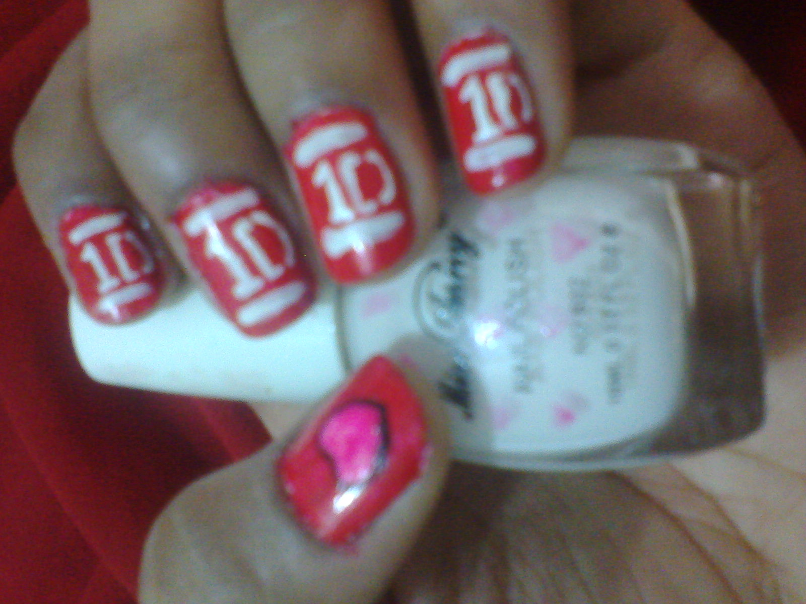 One Direction Images 1d Logo Nail Art Hd Wallpaper And