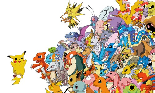 Pokemon Hintergrund possibly with Anime entitled 1st generation