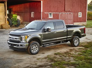 2017 Ford F 250 FX4 Super Duty Crew Cab.