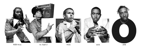 Rap and Hip-Hop wallpaper possibly containing a spatula entitled ABC's of Hip-Hop